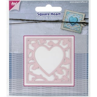 Joy! Crafts Cutting Die-Square With Heart