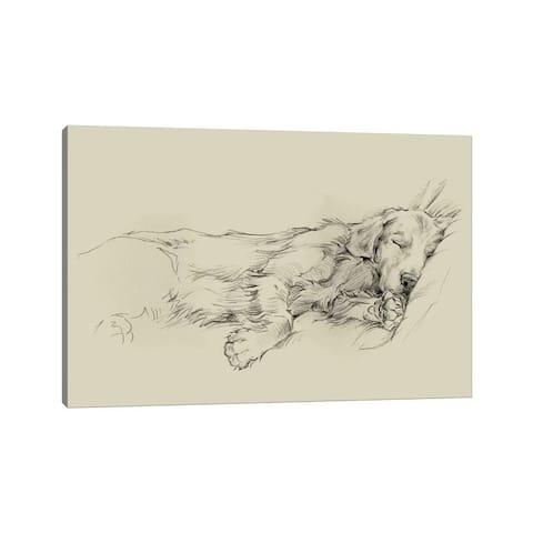 "iCanvas ""Dog Days III"" by Ethan Harper Canvas Print"