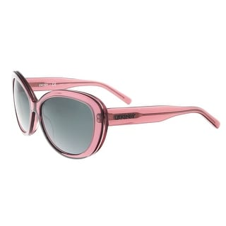 DKNY DY4107 360387 Clear Purple Cateye Sunglasses - clear purple - 55-16-135