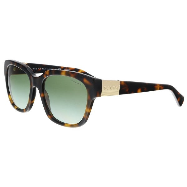 f5ceb4aa124 Shop Ralph Lauren RA5221 15858E Dark Tortoise Square Sunglasses - 54 ...