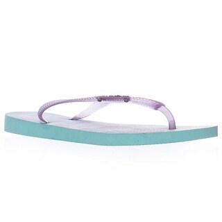 Havaianas Slim Flip Flops - Ice Blue
