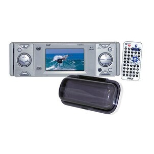 In-Dash Marine CD/DVD Receiver with 3'' Built In Monitor