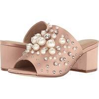 Aldo Womens Pearls Open Toe Mules