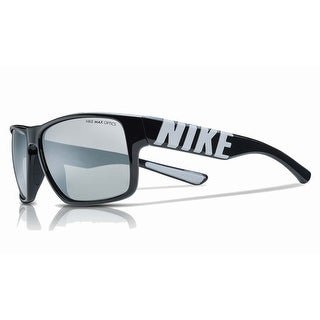 Nike Mens Mojo Black/Wolf Grey with Grey Silver Flash Lens Sunglasses