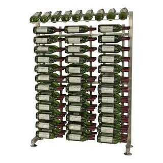 VintageView IDR4-H 117-Bottle 4-Foot Half-Island Display Rack - N/A