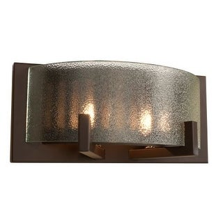 Alternating Current AC1192 Firefly Industrial Bronze 2 Light Bathroom Vanity