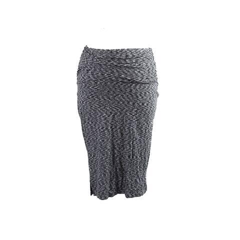 Inc International Concepts Grey Printed Pencil Skirt S