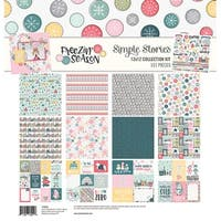 "Simple Stories Collection Kit 12""X12""-Freezin' Season"