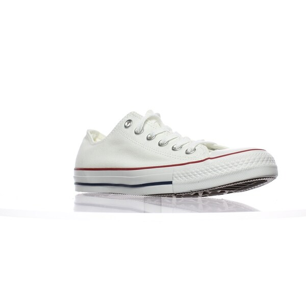 Shop Converse Mens 142270F White Fashion Sneaker Size 6 - Free ... 7c59cb37eb45