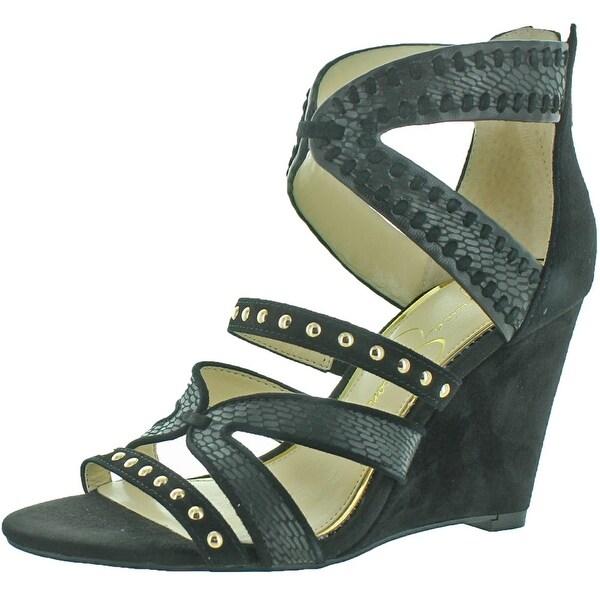 Jessica Simpson Zenolia Women's Wedge Evening Sandal