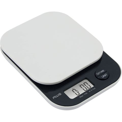 American Weigh Scales Vanilla Series Digital Kitchen Scale