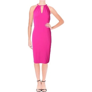 Lauren Ralph Lauren Womens Cocktail Dress Jersey Stretch