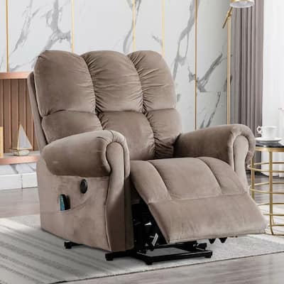 Big and soft Massage Remote Control ,Power Lift Recliner Chair