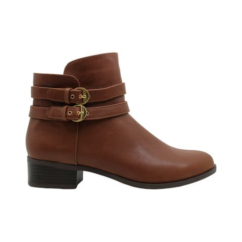 Charter Club Womens Jaimee Closed Toe Ankle Fashion Boots