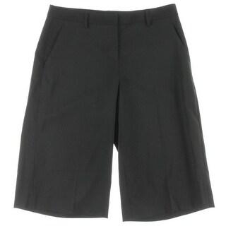 DKNY Womens Dress Pants Solid Capris - 12