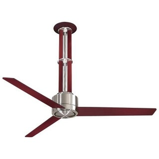 "MinkaAire Flyte 3 Blade 56"" Ceiling Fan - Light, Wall Control and Blades Included"