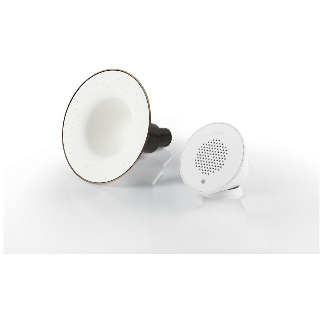 Kohler K 9245 G Moxie 1 75 Gpm Single Function Shower Head With Bluetooth Wireless Technology