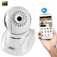 IP Cam / WiFi Security Camera, Full HD 1080p with Remote Surveillance Monitoring, Pan/Tilt Controls, App Download (White)