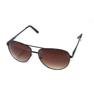 Timberland Mens Black Metal Aviator Sunglass TB7118 2F - Medium