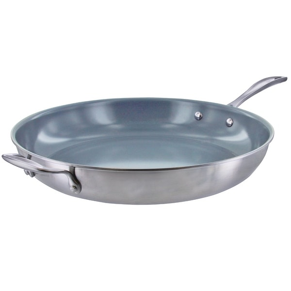 Shop Zwilling Spirit 3 Ply Stainless Steel Ceramic Nonstick Fry Pan Free Shipping Today