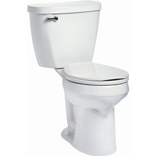 Mansfield 388-387 Summit 1.28 GPF Two-Piece Round Comfort Height Toilet - Less S