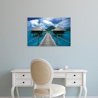 Easy Art Prints Walter Bibikow's 'Bora Bora' Premium Canvas Art