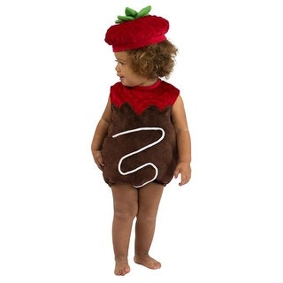 Chocolate Strawberry Child Costume 12-18 Months - Brown