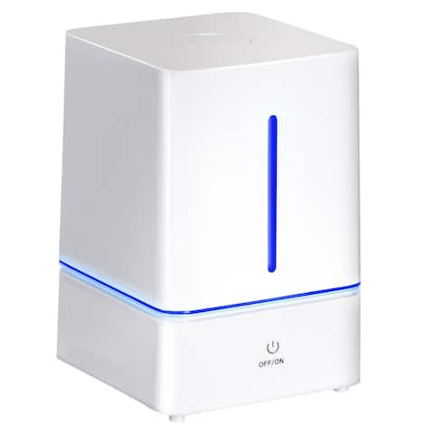 Costway 4L Ultrasonic Cool Mist Air Diffuser Humidifier w LED Night Light Office