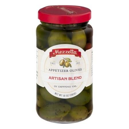Mezzetta Artisan Blend Appetizer Olives - Case of 6 - 10 oz.