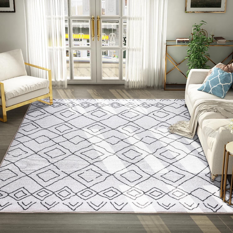 Boho Moroccan Geometric Area Rug Kitchen Mat Rugs On Sale Overstock 30952065