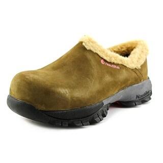 Nautilus Composite Toe Women Composite Toe Suede Work Shoe