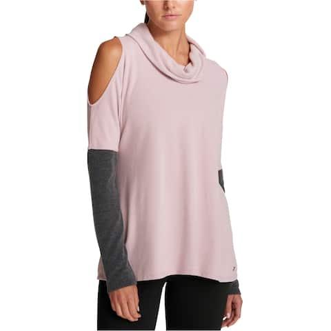 Dkny Womens Cold Shoulder Basic T-Shirt