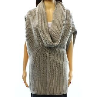 Lauren Ralph Lauren NEW Gray Women's Size Small S Cowl Neck Sweater
