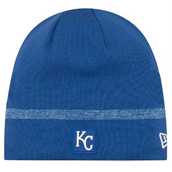 a38ad227 New Era MLB Kansas City Royals Clubhouse Stocking Knit Hat Beanie Skull Cap