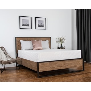 Link to NuForm 14-inch Gel Memory Foam Mattress Similar Items in Bedroom Furniture