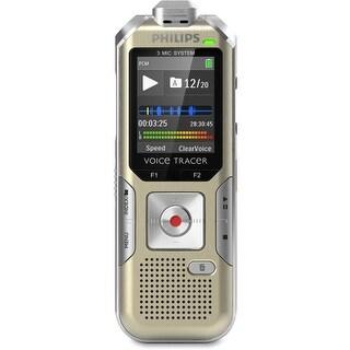 """Philips DVT6500/00 Philips Voice Tracer DVT6500 4GB Digital Voice Recorder - 4 GB Flash MemoryLCD - Headphone - 1140"