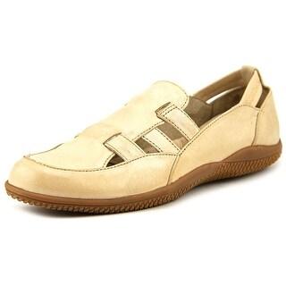 Softwalk Hampton Apron Toe Leather Loafer