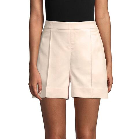 Oscar De La Renta Wool & Silk-Blend Short