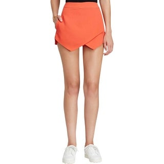 Aqua Womens Skort Asymmetric Textured
