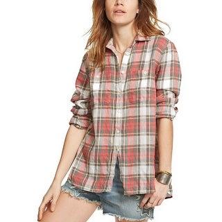 Denim Supply Ralph Lauren Plaid Utility Shirt - m