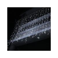 Winterland WL-CUR150PW-LED-W Curtain LED Light By Queens of Christmas