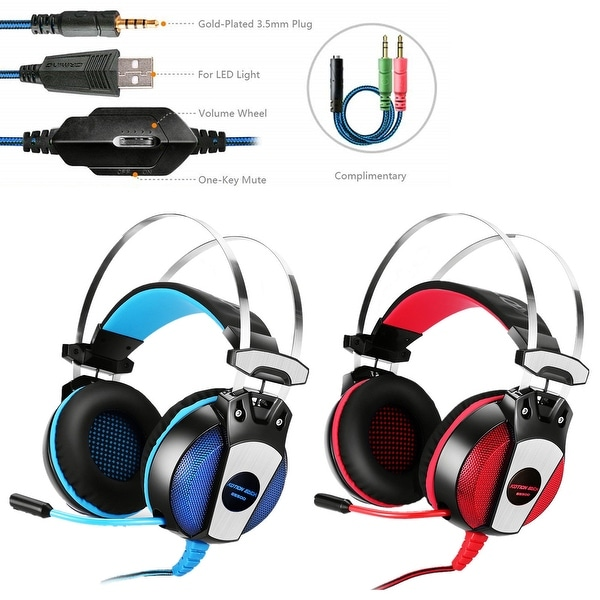 Shop KOTION EACH GS500 3 5mm Gaming Headset Headphone with Mic