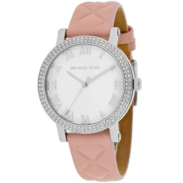 Michael Kors Women's Norie MK2617 Silver Dial watch