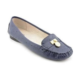 Michael Michael Kors Hamilton Moc Women Moc Toe Leather Loafer
