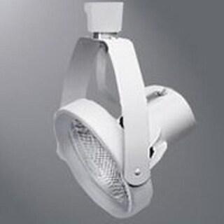 Halo LZR000401P Track Light, Gimbal, 12 V, White