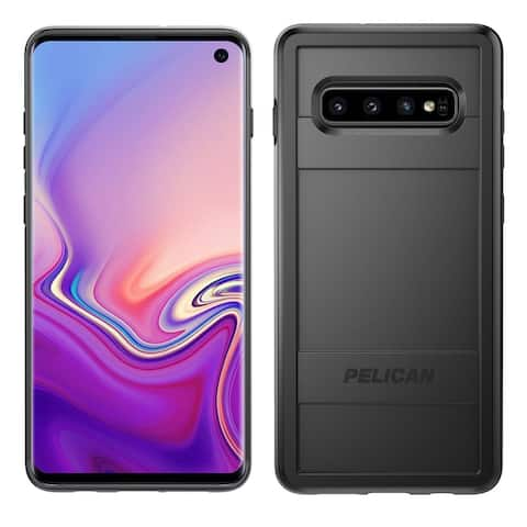 Pelican Protector Dual Layer Rugged Protection Case for Samsung Galaxy S10 - Black