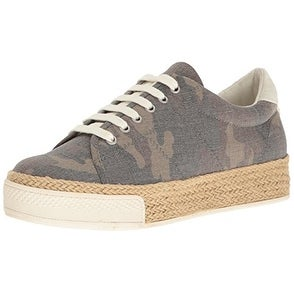 Dolce Vita Womens Camouflage Low Top Lace Up Fashion Sneakers