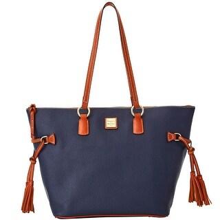 985c43ac145b Shop Tory Burch Ella French Navy Nylon Mini Tote Bag - On Sale ...