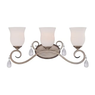Designers Fountain 86003 Gala 3 Light Bathroom Vanity Light
