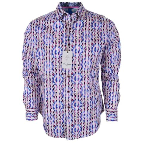 Robert Graham BENT CREEK Print Cotton Classic Fit Sports Shirt